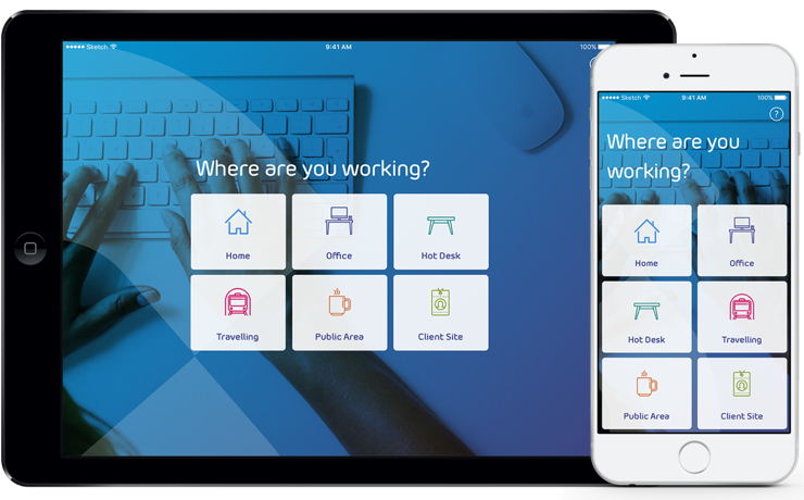 Workstation ergonomics application