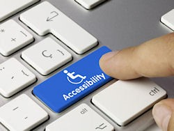 Keyboard with accessibility key