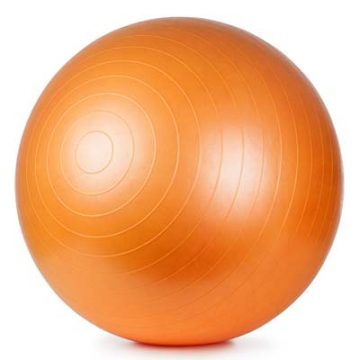 orange fitness ball