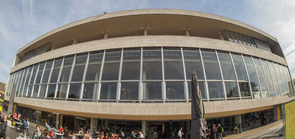 royal festival hall frontage