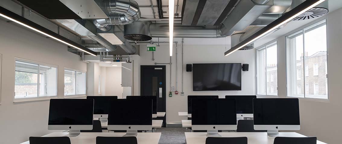 smart training room where iosh training courses are held