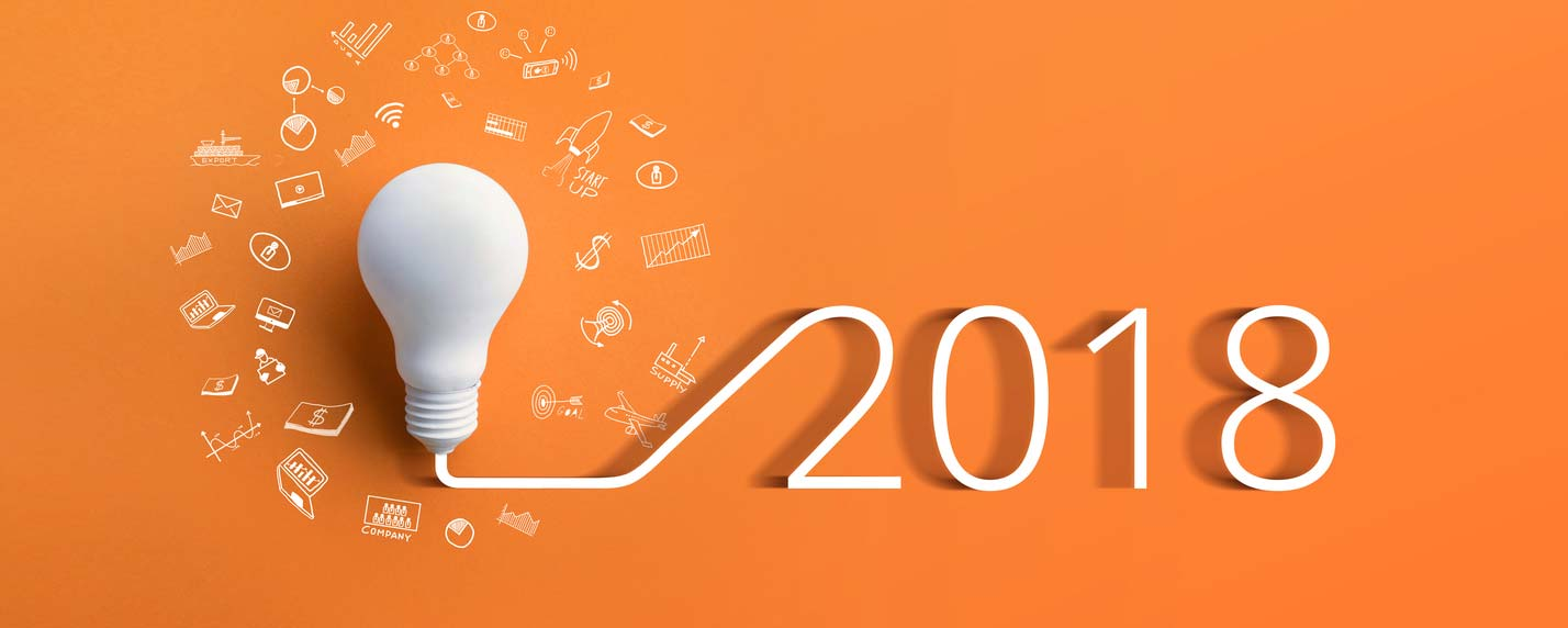 concept representing ux resolutions for 20182018