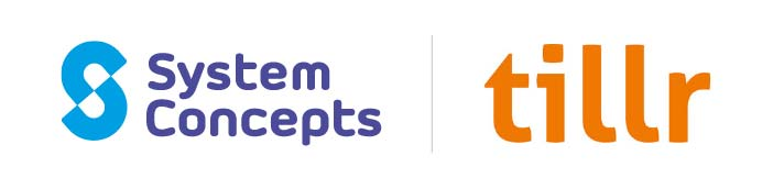 system concepts and tillr logos