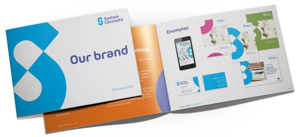 brand guidelines document