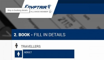 skip link example egypt air