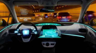autonomous vehicle dashboard
