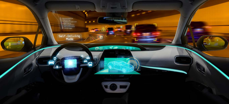 autonomous vehicles dashboard