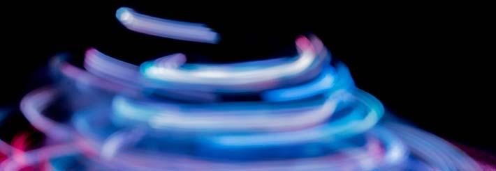 blue swirl digital website concept