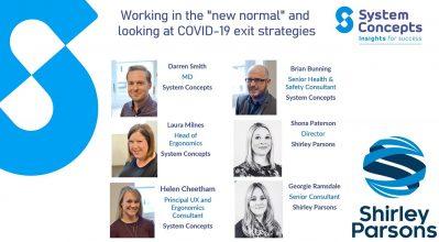 Webinar speakers; Darren Smith, Laura Milnes, Helen Cheetham, Brian Bunning, Shona Paterson, Georgie Ramsdale